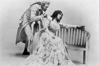 Julia Neilson and Fred Terry in the Scarlet Pimpernel, C1905- Ellis & Walery-Giclee Print