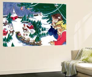 Waiting for Santa - Jack & Jill by Julia Nordell