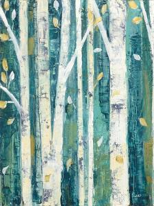 Birches in Spring II by Julia Purinton