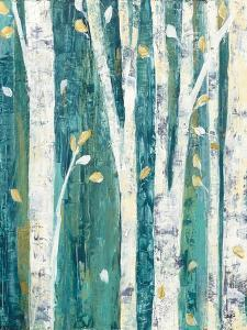 Birches in Spring III by Julia Purinton