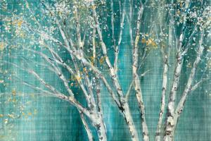 Blue Birch Horizontal by Julia Purinton