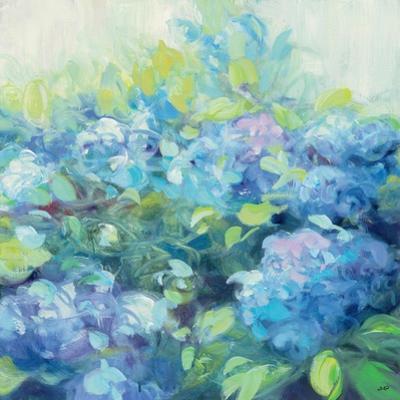 Bright Hydrangea II by Julia Purinton