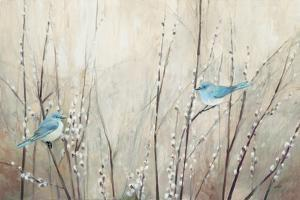 Pretty Birds Neutral by Julia Purinton