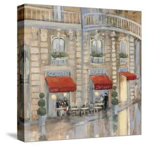 Touring Paris Couple II by Julia Purinton