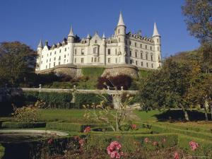 Dunrobin Castle and Grounds, Near Golspie, Scotland, UK, Europe by Julia Thorne