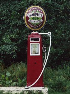 Murphy's Stout Petrol Pump, County Cork, Munster, Eire (Republic of Ireland) by Julia Thorne
