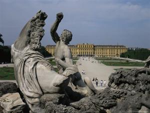 Schonbrunn Palace, Unesco World Heritage Site, Near Vienna, Austria by Julia Thorne