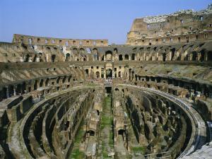 The Colosseum, Rome, Lazio, Italy, Europe by Julia Thorne