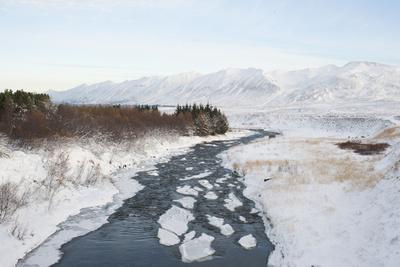 River, Dalvik Area, Eyjafjšrdur, North Iceland