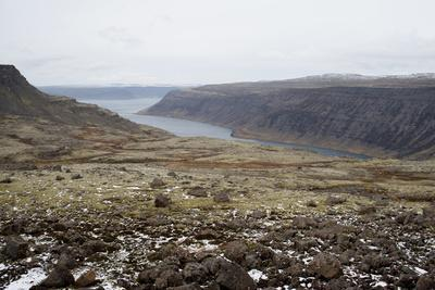 Route 60, View on Geirpjofsfjšrdur, Westfjords, West Iceland