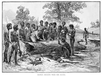 Batman Treating with the Blacks, 1835