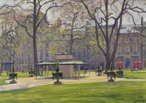 Berkeley Square, London by Julian Barrow