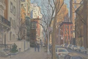East 70th Street, 2010 by Julian Barrow
