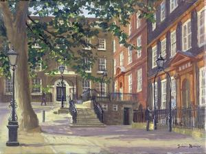 Kings Bench Walk, Inner Temple by Julian Barrow