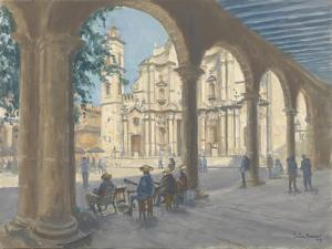 Plaza De La Catedral, 2010 by Julian Barrow