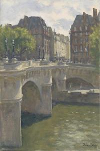 Pont Neuf, 2010 by Julian Barrow