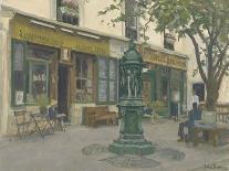 Leadenhall Market - the Crossroads-Julian Barrow-Giclee Print