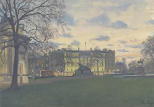 Spring Evening, Hyde Park Corner, 2010 by Julian Barrow