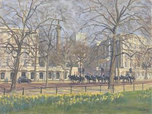 Spring Morning, the Mall, 2010 by Julian Barrow