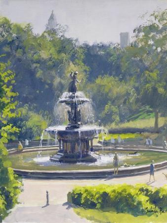 The Bethesda Fountain, Central Park, 1996