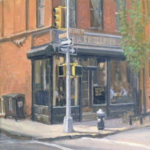 West Village Corner Shop, 1997 by Julian Barrow