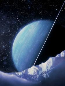 Artwork of Uranus by Julian Baum