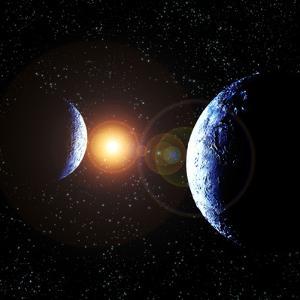 Double Planet by Julian Baum