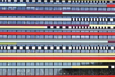 Abstracted Detail of Office Building, De Uithof District, Utrecht University, Netherlands