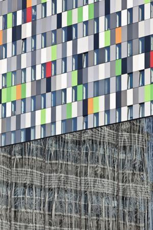 Abstracted Exterior of the Casa Confetti Student Housing Building 2008