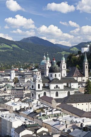 City View of Salzburg, Austria