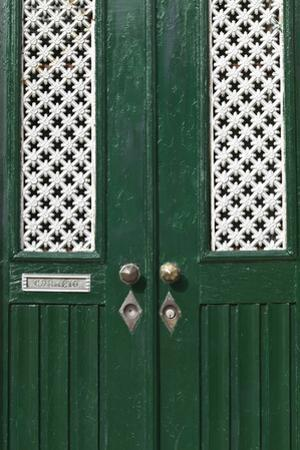 Detail of a Traditional Portuguese Door, Ilhavo, Beira Litoral, Portugal