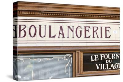 Exterior Detail of Boulangerie Shopfront, Montmartre, Paris, France