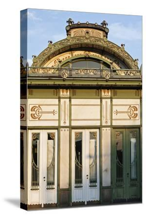 Karlsplatz Pavilion Metropolitan Railway Station 1898, Vienna (Wien), Austria