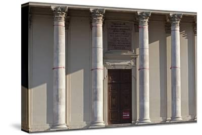 Main Entrance to the Karlskirche (St. Charles Church), Vienna, Austria