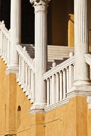 Piazza Municipale 15th Century Gala Staircase Ferrara Emilia-Romagna Italy