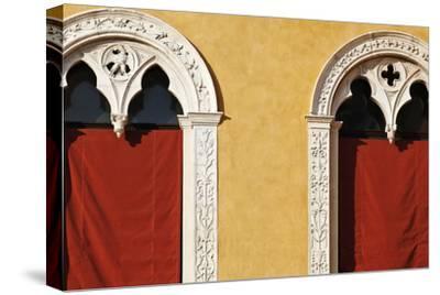 Window Detail of Palazzo Municipale (Town Hall) Ferrara Emilia-Romagna Italy