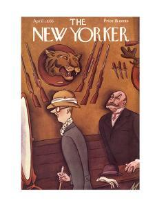 The New Yorker Cover - April 1, 1933 by Julian de Miskey
