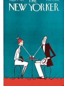 The New Yorker Cover - August 8, 1925 by Julian de Miskey