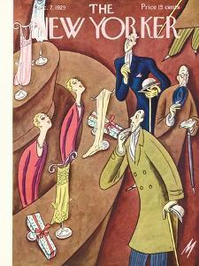 The New Yorker Cover - December 7, 1929 by Julian de Miskey
