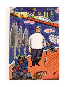 The New Yorker Cover - February 1, 1930 by Julian de Miskey
