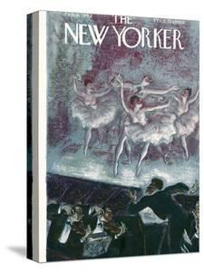 The New Yorker Cover - February 6, 1943 by Julian de Miskey