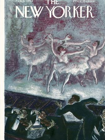 The New Yorker Cover - February 6, 1943