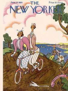 The New Yorker Cover - June 16, 1928 by Julian de Miskey