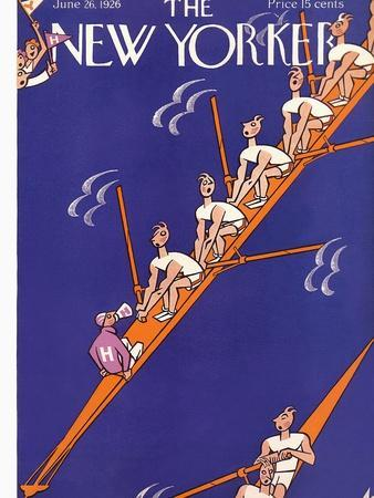 The New Yorker Cover - June 26, 1926
