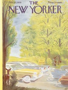 The New Yorker Cover - May 23, 1959 by Julian de Miskey