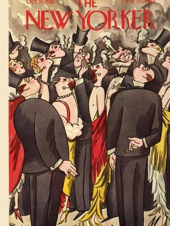 The New Yorker Cover - October 18, 1930