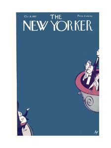 The New Yorker Cover - October 31, 1925 by Julian de Miskey