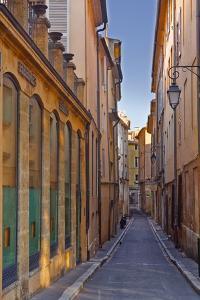 A Narrow Backstreet in Aix-En-Provence, Bouches-Du-Rhone, Provence, France, Europe by Julian Elliott