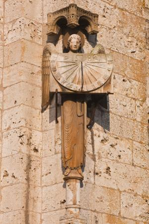 An Old Sundial on Chartres Cathedral