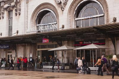 Gare De Lyon Railway Station in Central Paris, France, Europe